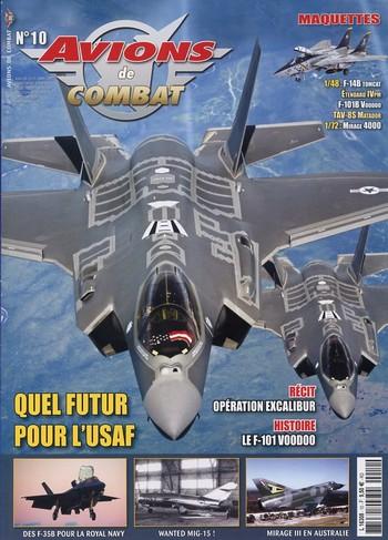 Avions de combat n°10
